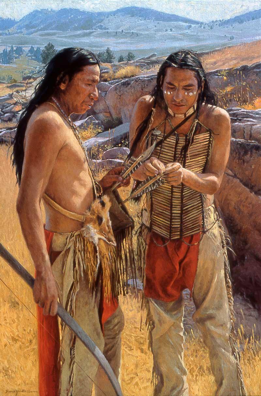 Broken Arrow by David Yorke Art