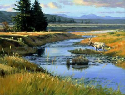 Snake River Winding by David Yorke Art