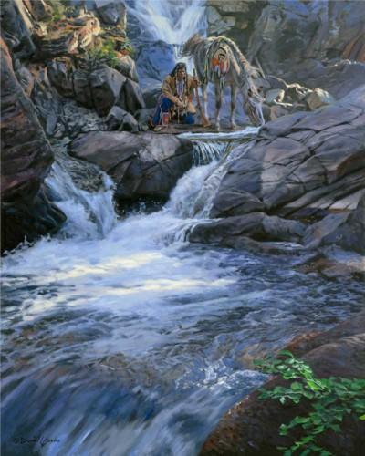 The Waters Speak by David Yorke Art