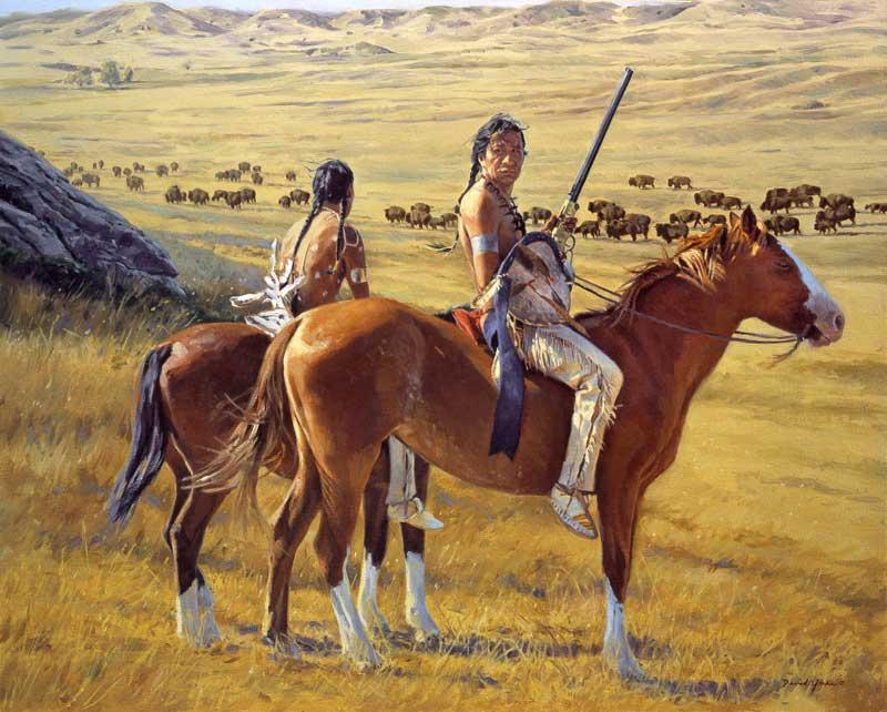 Vanishing Herds by David Yorke Art