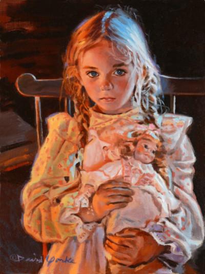 Best Friends Painting by David Yorke Art