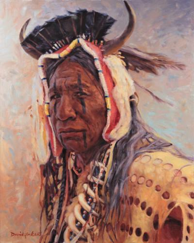 Blackfoot Painting by David Yorke Art