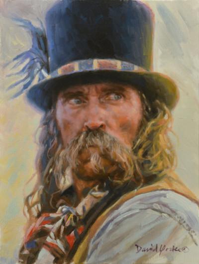 Snake Oil Peddler Portrait by David Yorke Art